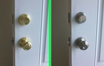 Lockset removal and replacement.