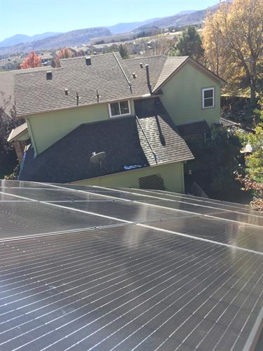 Auric Solar = sleek solar.  No long conduit runs all over your roof.