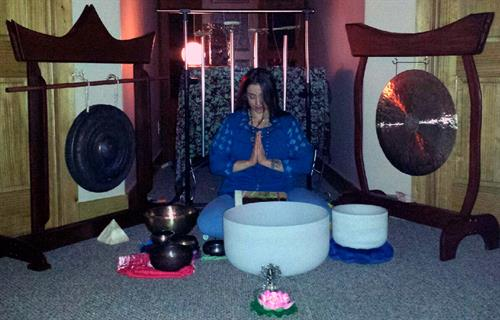 Sound Healing Meditation with Crystal Singing Bowls, Gongs & Ananda