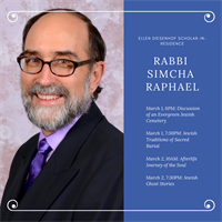 Shabbat Dinner & Jewish Traditions of Sacred Burial
