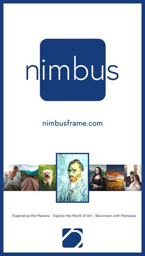 Nimbus Frame Digital Advertisement