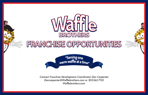 Waffle Brothers Franchise Poster