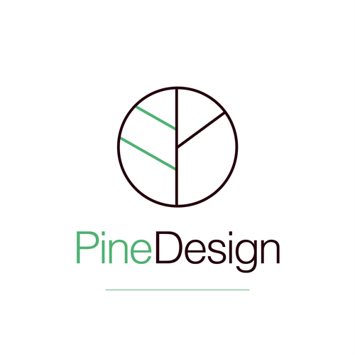 Pine Design Primary Logo