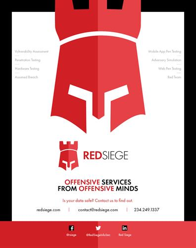 Red Siege Magazine Advertisement