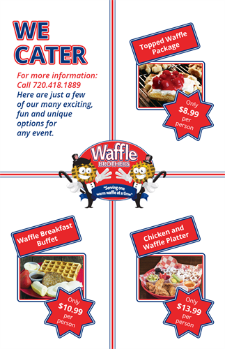 Waffle Brothers Table Cards Back