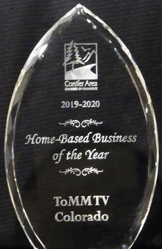 2019-2020 Home Base Business of the Year Award.  Thank you for your support!