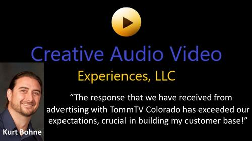 Creative Audio & Video, advertising since 2018