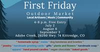 First Friday Outdoor Market with Daddy's Homemade