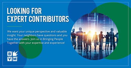 Become an Expert Contributor