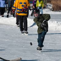 Youth Pond Hockey