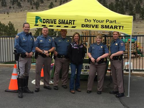 Our Colorado State Patrol partners