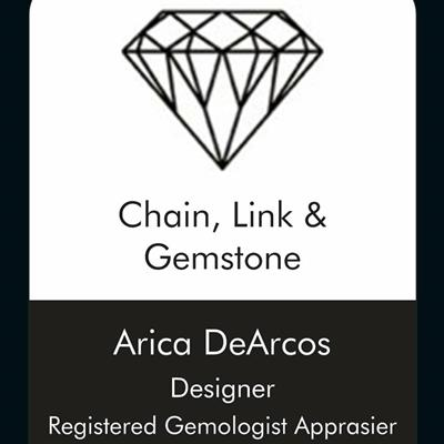Chain, Link & Gemstone
