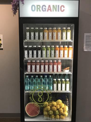 Organic Cold-Pressed Juices