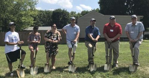 Groundbreaking - 15th Habitat Home - 7/2019