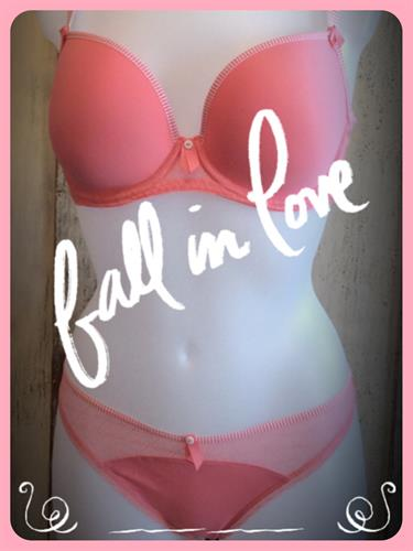 Bras in European sizing - beginning in 30 inch bands and AA cups....
