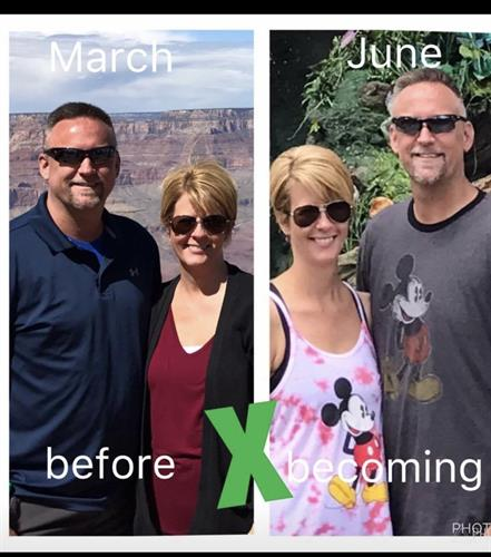 Not only have Bill And Jenny lost weight their migraines and pain are gone.  Also Bills acid reflux.