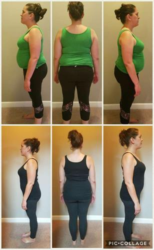Meghan is a type 1 diabetic & was able to go down half for her insulin in 1 week!!!  Here are her 30 day results.