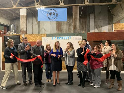 LP Crossfit Ribbon Cutting