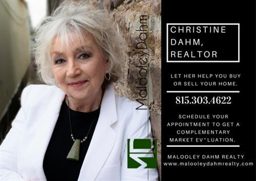 Christine Dahm, Broker 815.303.4622