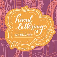 Hand Lettering with Chelsie Tamms