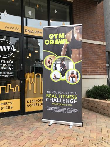 Design and Print your information on our Retractable Banners