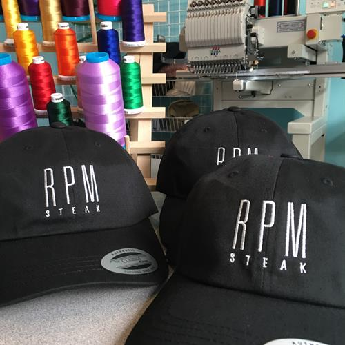 Custom Embroidered Logo Hats