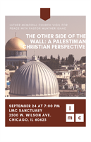 The Other Side of the Wall: A Palestinian Christian Perspective