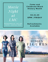 Hidden Figures Movie Night @ Luther Memorial Church