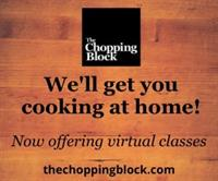 The Chopping Block Virtual Cooking Demo on the Patio: Grilled Cheese-Stuffed Burgers