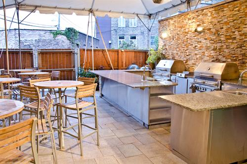 Outdoor Grilling Patio