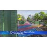 Ainslie Arts Plaza Opens In Lincoln Square