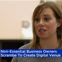 Non-Essential Business Owners Scramble To Create Digital Venue