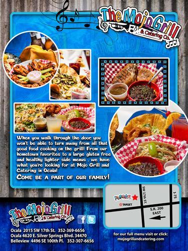 Come see us at Mojo Grill 200