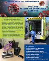 SubZero 170 RS COVID-19 Portable Hand-Held UVC Rapid Sanitizer