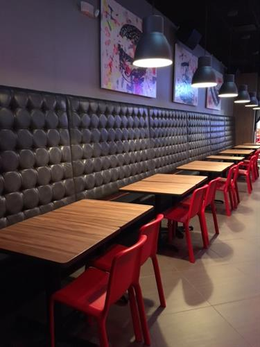 Our New Banquette - Super Comfy