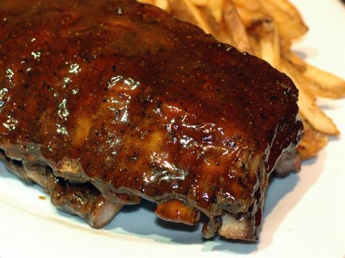 Real Pit Smoked BBQ Ribs