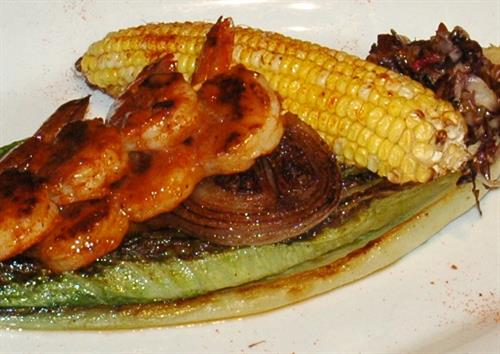 BBQ Shrimp & Corn Special