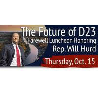 The Future of D23: A Farewell Luncheon to Rep. Will Hurd
