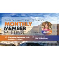 Monthly Member Meeting feat. Dr. Teniente-Matson