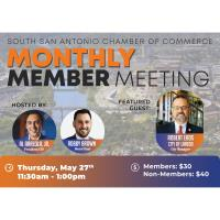 Monthly Member Meeting feat. City of Laredo City Manager