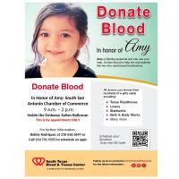 South San Antonio Chamber of Commerce Blood Drive
