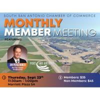 Monthly Member Meeting: Port San Antonio