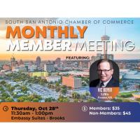 Monthly Member Meeting: SAMCo President/CEO, Vic Boyer