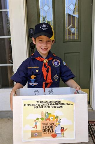 Annual Scouting for Food Drive