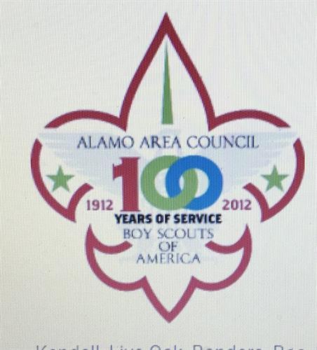 Est. Symbol of Alamo Area Council 1912