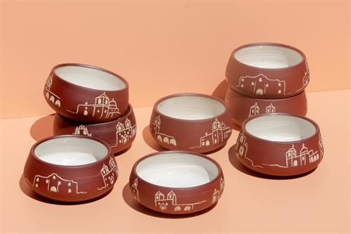 Handcrafted Mission Inspired Patio Candles
