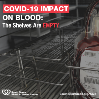 URGENT: Ongoing COVID-19 pandemic has devastating impact on blood supply