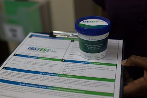 FDA approved rapid urine tests produce results within 2 minutes!