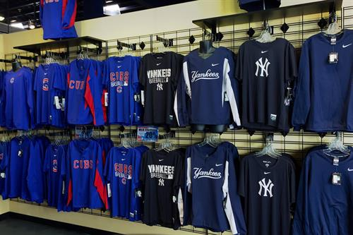 We Carry Professional & College Clothing & Novelty!