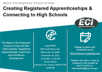 Creating Registered Apprenticeships & Connecting to High Schools